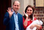 William e Kate con il terzo Royal Baby appena venuto al mondo.