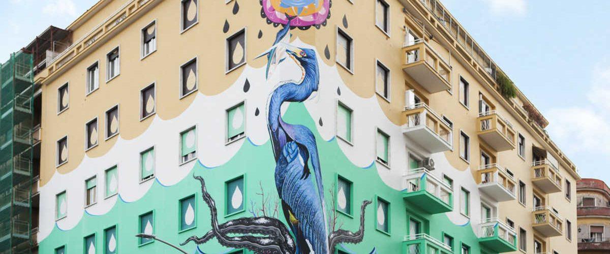 Hunting Pollution: il murale che pulisce l'aria dallo smog