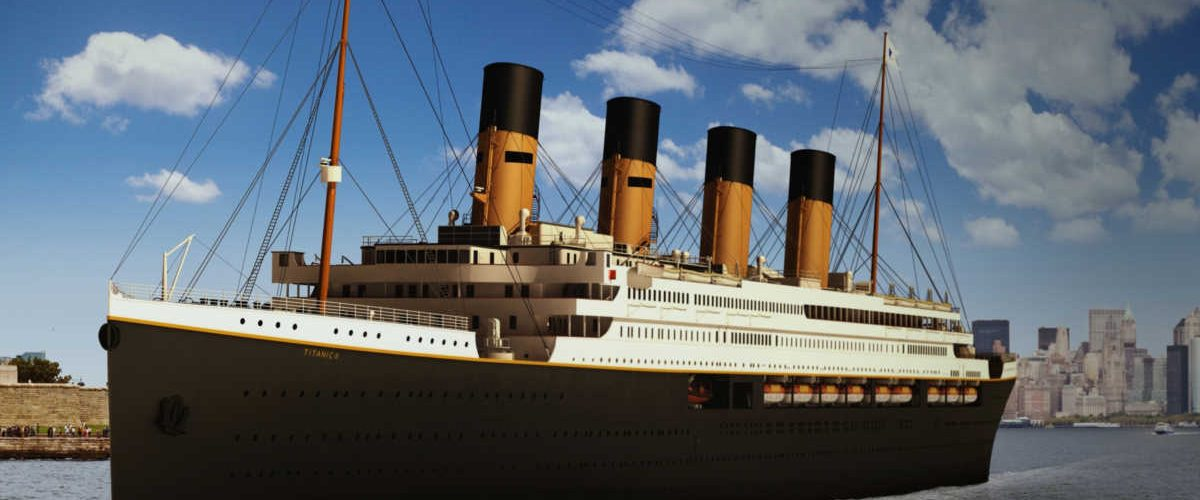 Il Titanic torna in mare nel 2022