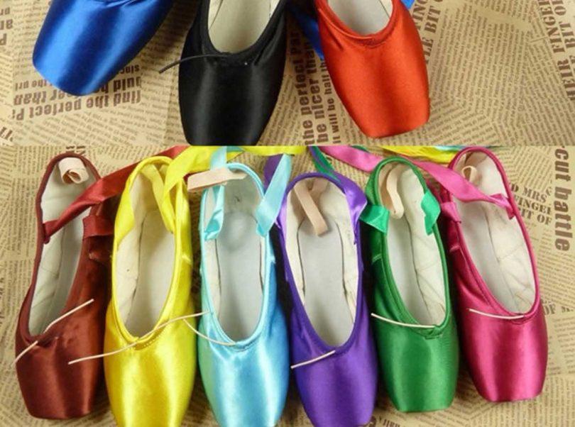 In commercio anche le scarpe da ballo per danzatrici di colore