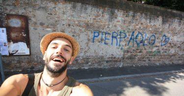 Pier Paolo Spinazzè ferma l'odio fascista con la sua arte