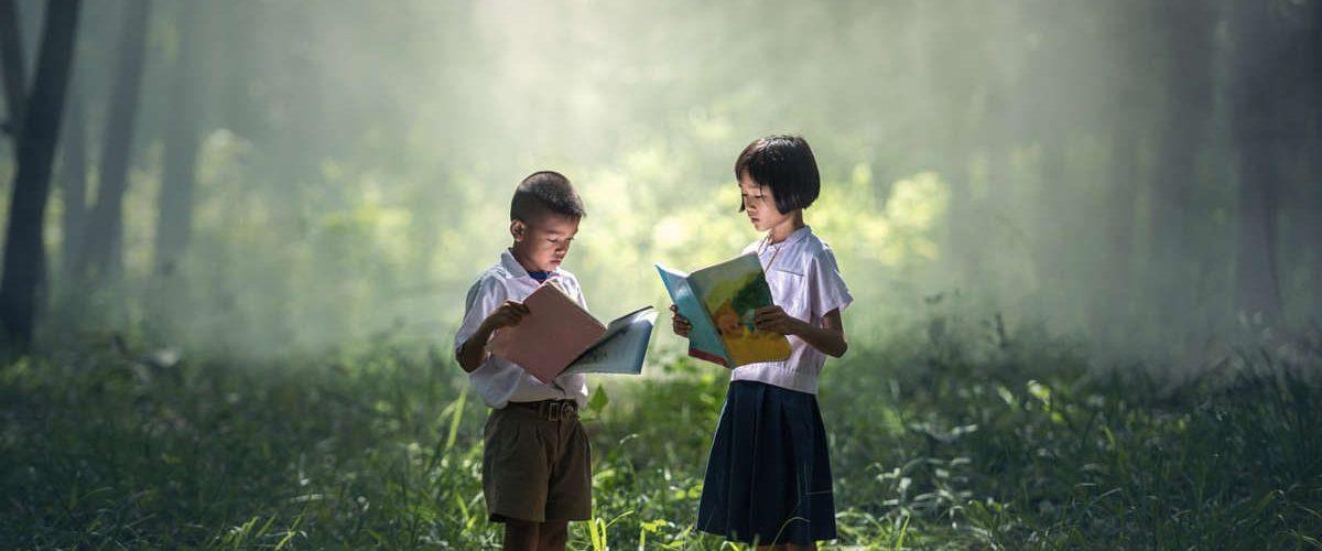 Asili nel bosco. La scuola all'aperto, immersi nella natura.