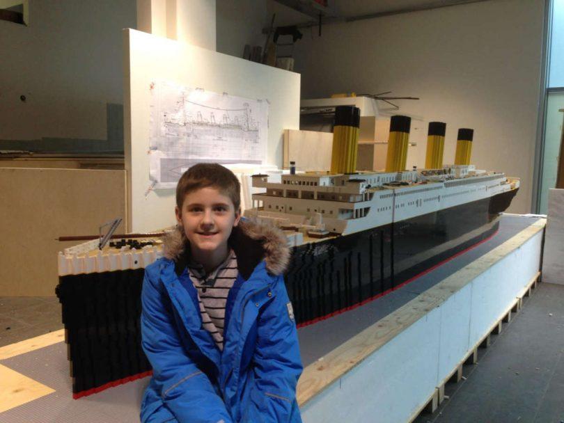 Brynjar Karl Bigisson fa rinascere il Titanic