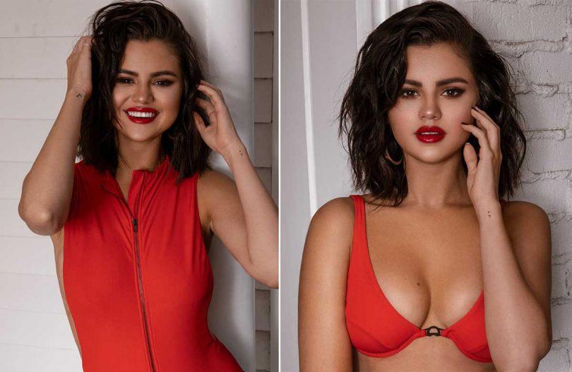 Selena Gomez crea due costumi da bagno molto particolari