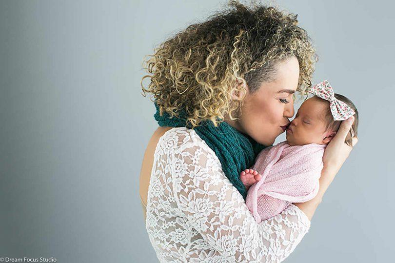 """Amber Rojas partorisce una figlia down: """"per noi è perfetta"""""""