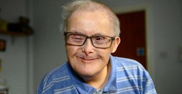 georgie wildgust il nonno down più anziano d'europa