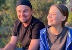 Leonardo DiCaprio con Greta Thunberg per l'ambiente