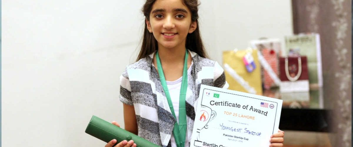Zymal Umar, la bambina che salva il pianeta